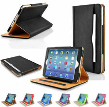New Soft Leather Folio Wallet Smart Case Sleep Wake Stand For Apple iPad