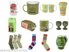 Dad's Army Gifts | Mugs | Tankard | Socks | Money Bank | Egg Cups | Wash Bag Etc