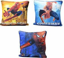 "PILLOW & SPIDER MAN DISNEY DESIGN PILLOW SHEET TWO SIDE PRINT KIDS 16"" X 17"""
