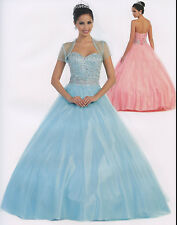 5 Color Quinceanera Ball Gown Dress Prom Evening Pageant Party Gala Formal 4-16