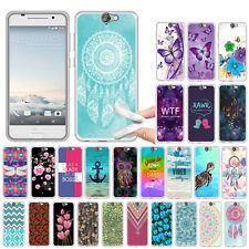 For HTC One A9 Aero AT&T Fashion TPU Soft SILICONE Rubber Back Case Cover