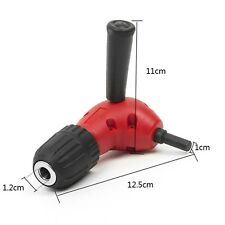 3/8 inch Right Angle Angled 90 Degree Hand Drill Attachment Keyless Chuck Tool