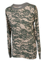 Army Digital Camo T-Shirt / Poly Cotton - Made in the USA - FREE SHIPPING