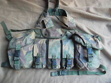 genuine HM SUPPLIES DPM NI PLCE CHEST WEBBING RIG HARNESS 9 SQN RE PARA AIRBORNE
