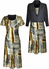 2 Piece Mother Of Bride Suit Set Dress And Jacket For Any Occasion