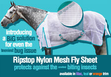 Ripstop Nylon Mesh Bellyband & Surcingle Fly Sheets, Mask, Neck Cover-Dura-Tech®