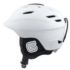 New Grayne MTN Ski and Snowboard Helmet White w/Audio Ready Liner....Ride On