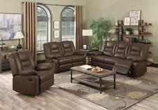 KIRK Recliner Sofa 3 Seater 2 Seater 1 Seater BONDED LEATHER New In