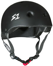 NEW S-One Mini Lifer Helmet Matte Black BMX Helmets