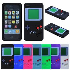 3D Gameboy Soft Silicone Rubber Case Cover For Apple iPhone 4G/4S