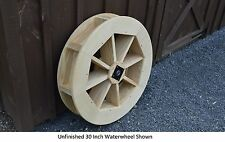 """Amish-Made 30"""" Waterwheel - Waterwheels Available in 9 Finishes"""