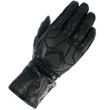 RST URBAN CE 2593 LEATHER MOTORCYCLE GLOVES BLACK