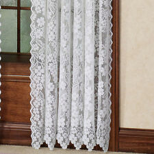 Heritage Lace DOGWOOD Panels, Tiers, Swags, Valances in Ecru or White NEW