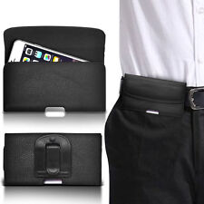 PU Leather Horizontal Belt Clip Pouch Case For HTC ThunderBolt 4G