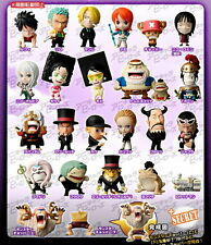 Plex Popy Heroes One Piece Enies Lobby Final Battle CP 9 Mini Big Head Figure