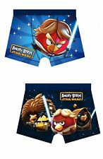 Star Wars Angry Birds Boys Boxer Trunk, 1 Piece, Sizes From 4-10 Years