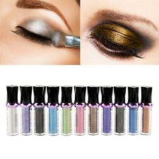 Women Glitter Bright Colors Roller Eyeshadow Pigment Loose Powder Cosmetic