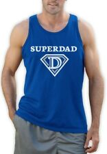 Super Dad Father's Day Gifts - Super Hero Dad Cool Singlet Funny