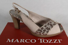 Marco Tozzi Ladies Sandals beige, soft leather insole NEW