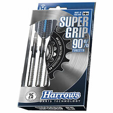 Harrows Supergrip 90% Tungsten Darts Supergrip Shafts & Dimplex Flights rrp£35