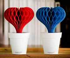 Lovepot Humidifier Non-electric Aroma Diffuser Hart Type(Red Blue / Main+Refill)