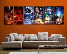 Star Wars Poster  Portrait Oil Painting Canvas Print Wall Decor Art Painting