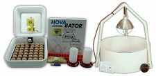 HovaBator Genesis 1588 Digital Egg Incubator | Auto Turner Brooder & Feeder Kits