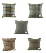 100% Harris Tweed Square Cushion 5 Authentic Tweed Patterns Available Brand New