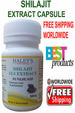 High Quality Shilajit Extract 5% Fulvic Acid Capsules
