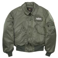 Alpha Industries CWU 45/P Flight Jacket Sage Green Military, Tactical, USAF