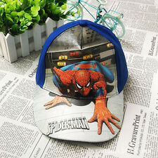 Fashion Kids Boys Toddlers Spiderman Sports Baseball Cap Hat Costume Accessory
