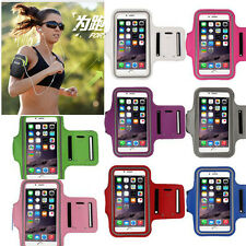 Cycling Armband Gym Jogging Running Sport Arm Band KEY Cover Case For iphone SE