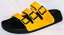 Birki Sandals by Birkenstock for Men Strap Birkis Tobago Melody Yellow Narrow