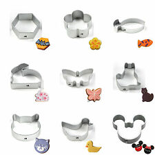 34 Shapes Buscuit/Cookie/Cake/Jelly Metal Cutter Tin Mould Baking DIY tool NEW