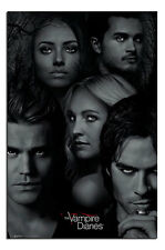 Poster - Vampire Diaries Faces Poster New - Maxi Size 36 x 24 Inch