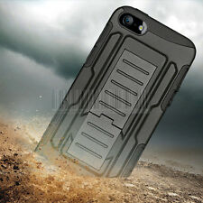 Shockproof Rugged Rubber Hard Case Cover Skin Holster For Apple iPhone 5 5S SE