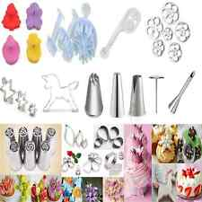 DIY Icing Piping Nozzles Tips Cake Fondant Decor Biscuit Cutter Pastry Mold Tool