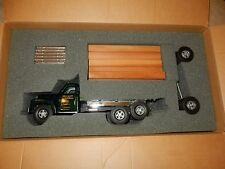 SMITH MILLER B MACK LUMBER TRUCK IN BOX GREEN METALLIC CAB