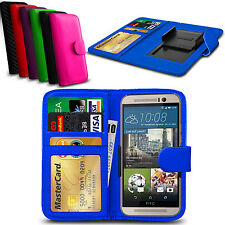 Clip On PU Leather Flip Wallet Book Case Cover For HTC Sensation XL