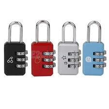 Various Digit Combination Dial Cabinet Suitcase Luggage Bag Code Padlock Lock