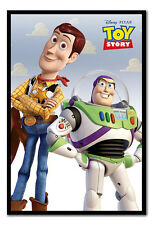 Framed Toy Story Woody and Buzz Lightyear Film Movie Poster New