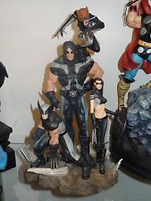 SIDESHOW MARVEL X-MEN EXCLUSIVE X-FORCE STATUE WOLVERINE X-23 WARPATH WOLFSBANE