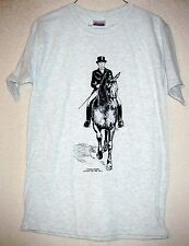 DRESSAGE HORSE & RIDER  Coming&Going HANES T-shirts / Adult Unisex Sizes