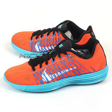 Nike Wmns Lunaracer+ 3 Running Shoes Total Crimson/White-Photo Blue  554683-804