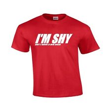 I'm Shy But I Have A Big Dick-Funny T Shirt Adult Humor Tee Holiday Gift Shirt