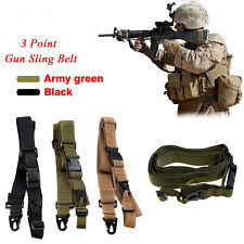 Hot Selling 3 Point Rifle Gun Sling Outdoor Hunting Rifle Shot Gun Sling Straps