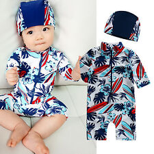 "NWT Vaenait Baby Infant Boys Toddler Swimwear Bathing Suit ""Baby Tahiti"" 6M-24M"