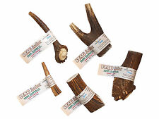 Stag Antler Horn Dog Chew Treat 100% Natural & Healthy Choice of 5 Sizes/Weights