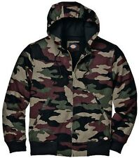 dickies limited mens skater work or school thermal lined camo winter work jacket
