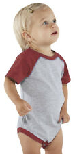 Rabbit Skins Toddler New Baseball Fine Jersey Bodysuit. 4430